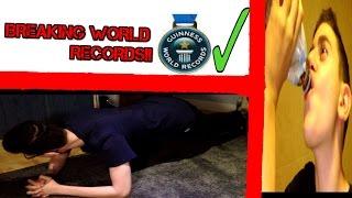 BREAKING GUINESS WORLD RECORDS CHALLENGE!! SLAP FORFEIT!! (LONGEST PLANK EVER!?)!