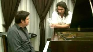 Cesar notaro,en un mano con el pianista mario marzan parte 1