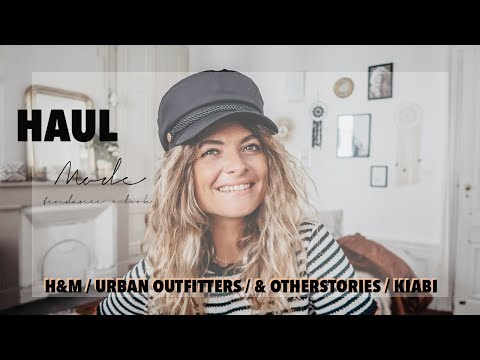 HUGE FALL HAUL : H&M - URBAN OUTFITTERS - &OTHERSTORIES - KIABI 🍁