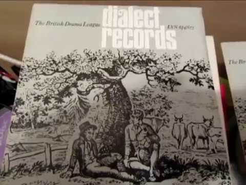 English Dialects - British Drama League Recordings - Lyntone Flexi-discs