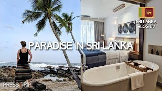 PARADISE IN SRI LANKA (+ the cost of a luxury resort 😲) | Sri Lanka Travel Vlog #7
