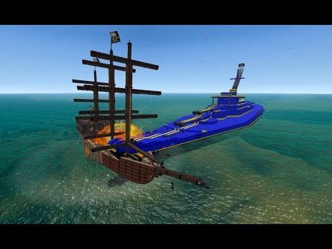 From the Depths, Battleship vs Sailing ship