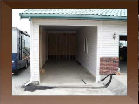 Attached Garage Addition To The Existing Carport Youtube