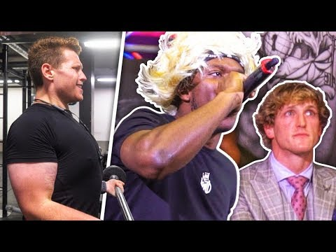 WHY LOGAN PAUL LEFT THE PRESS CONFERENCE EARLY...