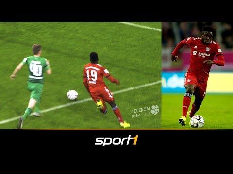 Alphonso Davies geht ab! Neuzugang mit starkem Debüt für FC Bayern | SPORT1