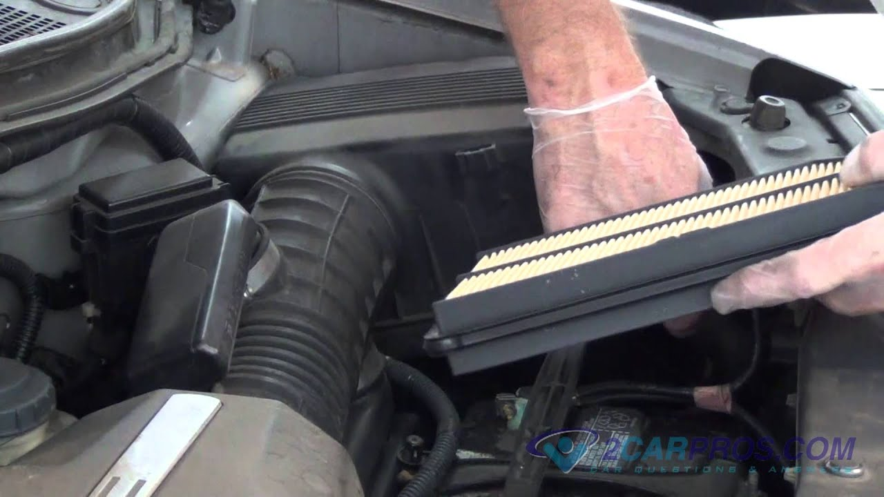 Air Filter Replacement Acura Mdx 2000-2006