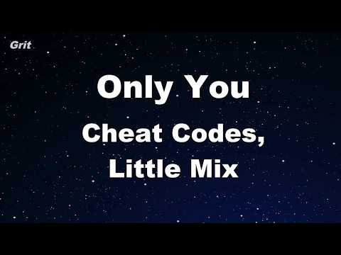 Only you - Cheat Codes, Little Mix Karaoke 【No Guide Melody】 Instrumental
