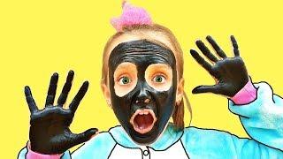 حبيبة وجهي ويدي سوداء !! my face and my hands are black