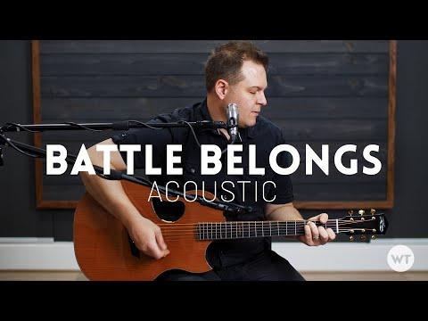 Battle Belongs - Phil Wickham - Acoustic Cover