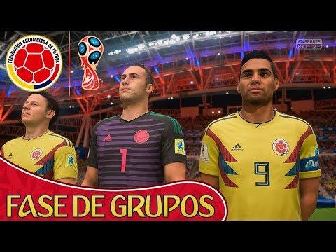 FIFA 18 World Cup - Comenzamos El MUNDIAL CON COLOMBIA | #1