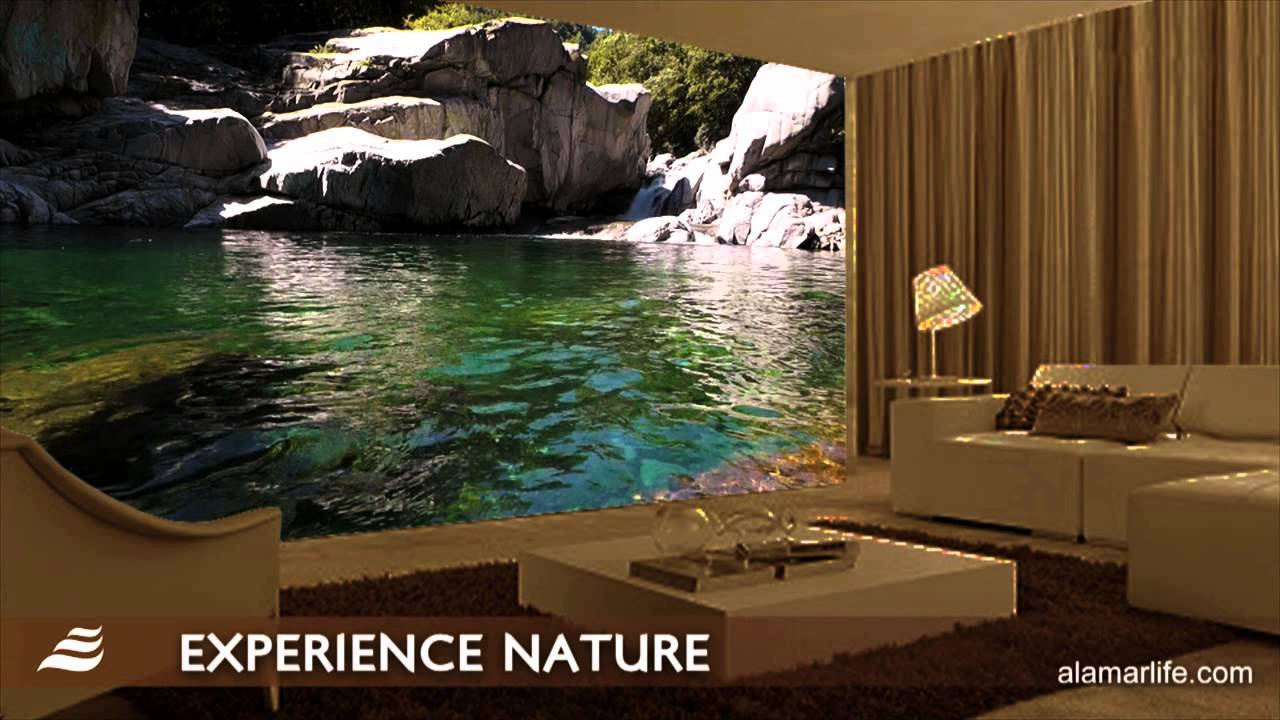 Experience nature app acqua di torrente video arredamento