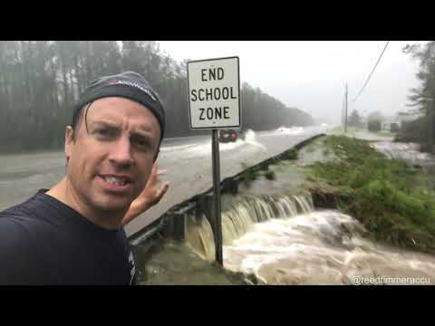 SIGNIFICANT FLOOD northeast of Wilmington, NC along Highway 17!