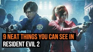 9 Neat things You Can See in Resident Evil 2