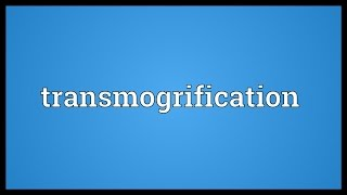 Transmogrification Meaning