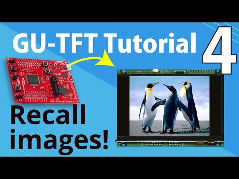 Noritake GU-TFT Tutorial | Part 4: Recall Images with MSP430™