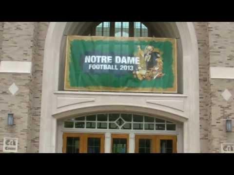The Notre Dame bookstore....