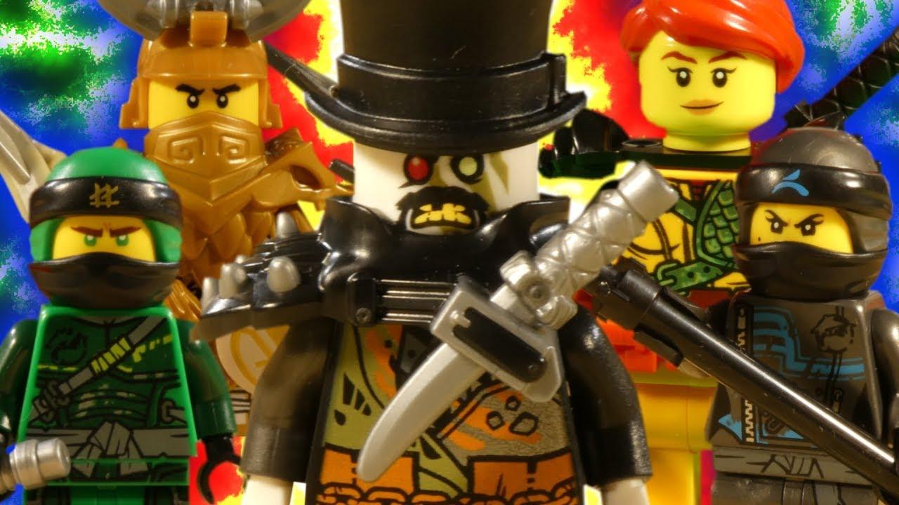 LEGO NINJAGO HUNTED - MEGA COMPILATION - YouTube