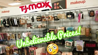 *New and Exciting* Makeup At Tj Maxx! Come shop with Me At Tj Maxx For makeup August 2019