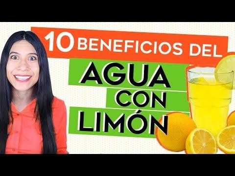 beneficios de tomar agua con limon durante el dia