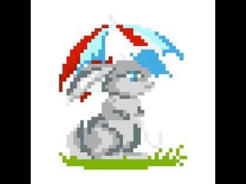 Pixel Art Lapin Youtube