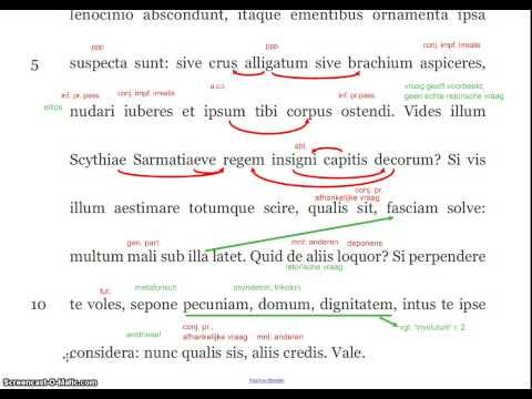 Seneca, Epistulae ad Lucilium 107, a1-7 (par. 1)из YouTube · Длительность: 9 мин18 с