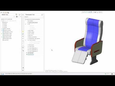 PTC Creo Design Exploration Extension Synopsis Demo Video