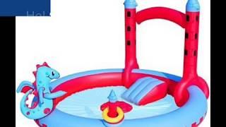 Обзор игровой центр бассейн