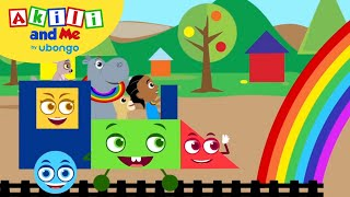 STORYTIME: Akili and the Shape Train! | Akili and Me FULL STORY | Cartoons for Preschoolers