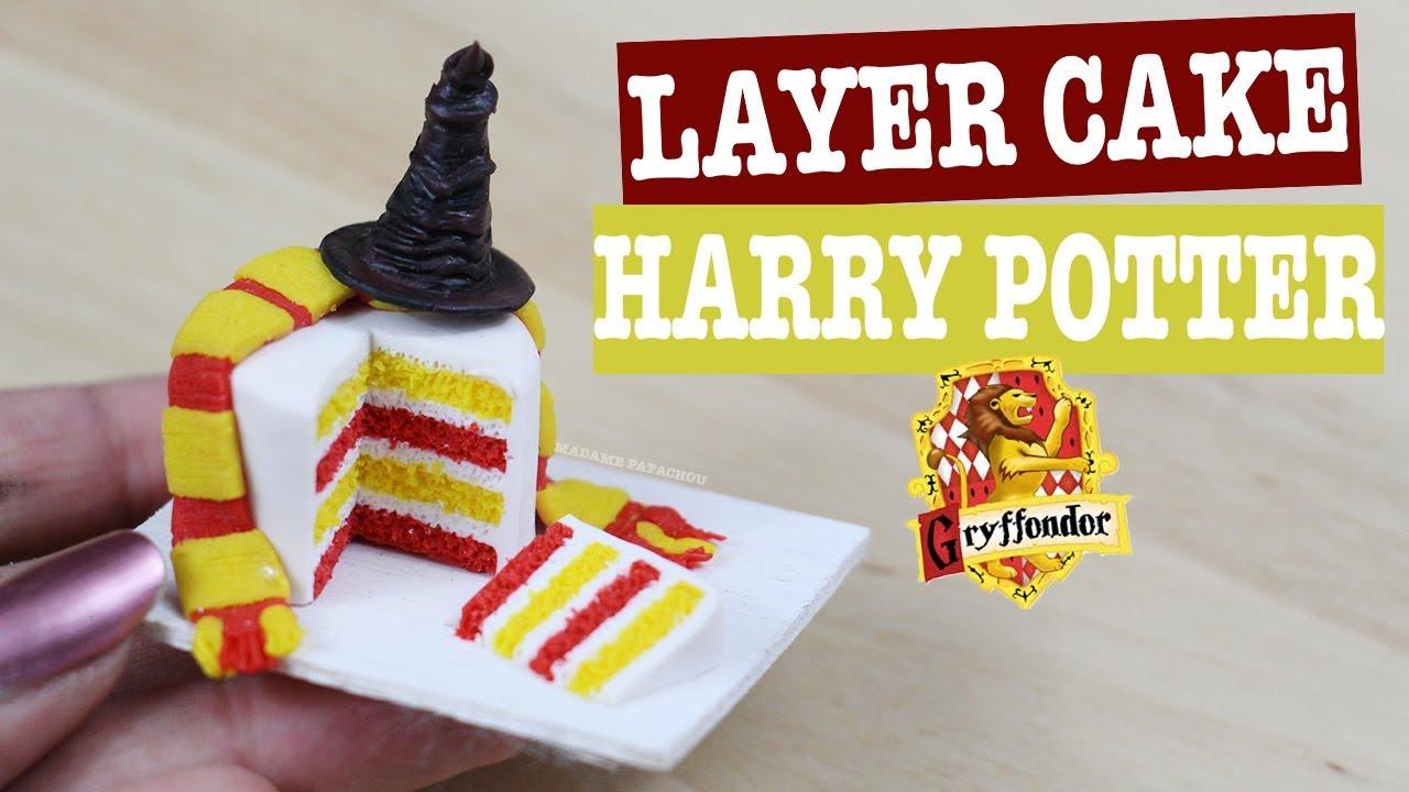 Harry Potter Cake Fimo