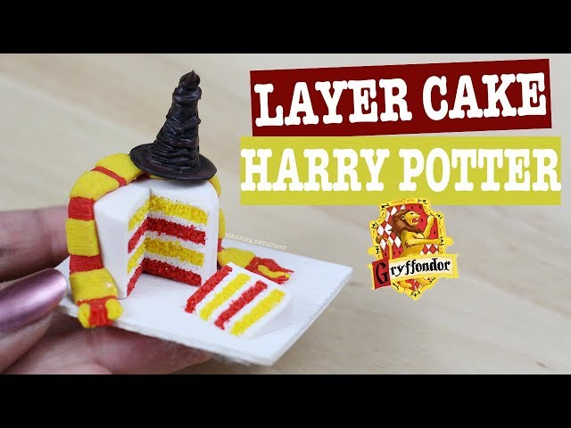 Harry Potter Cake Fimo Youtube