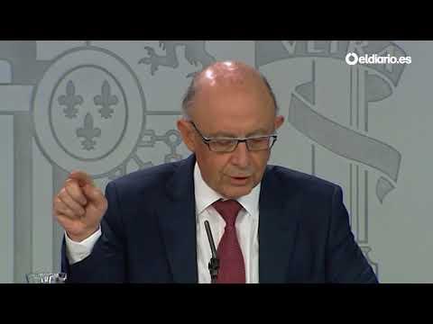 Montoro anuncia que el Gobierno asumirá el control financiero total de Catalunya