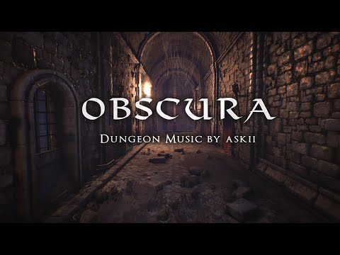 Obscura | 1 Hour Of Dark Ambient Fantasy Music | RPG Dungeon Ambience | D&D Audio | ASKII
