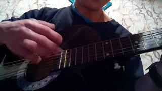ТОПОЛЯ на гитаре! Проба