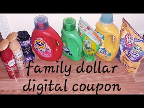 Family Dollar Digital Coupon