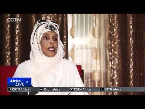 Somali female pilot takes to the skies to rebuild her country