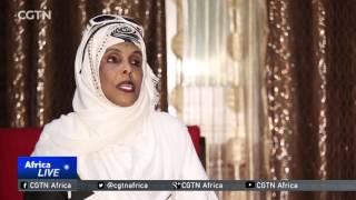 Somali female pilot takes to the skies to rebuild her country
