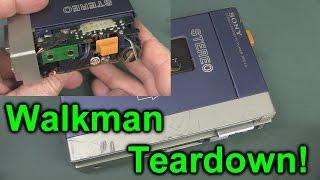 EEVblog #752 - Original Sony Walkman TPS-L2 Teardown