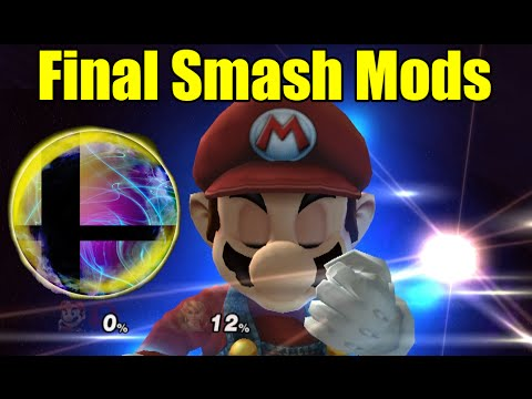 DESTRUCTIVE, INSANE,  and AWESOME Final Smash Mods in Smash Bros Brawl/Project M
