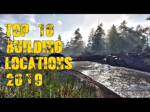 Miscreated Karte.Top 10 Base Building Locations Miscreated 2019 Youtube