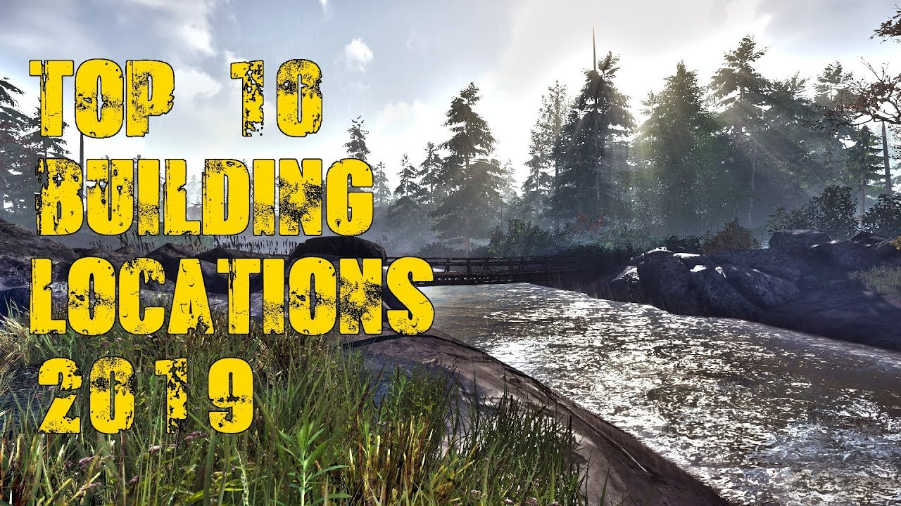 Miscreated Karte.Top 10 Base Building Locations Miscreated 2019