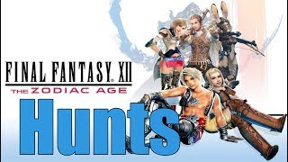 Final Fantasy 12 The Zodiac Age - Hunts and Optional Stuff