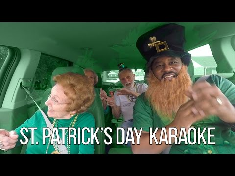 St. Patrick's Day Carpool Karaoke at Senior Living Communities