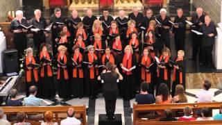 Chulilla - Scholapiarum Cantores - A tu lado (Javier Busto) 14 06 2014