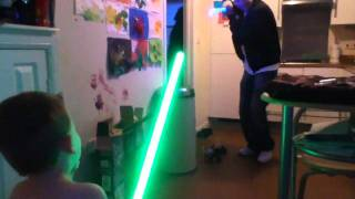 Big nobby wan kenobi vs Luke scaremonger
