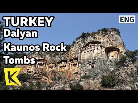 【K】Turkey Travel-Dalyan[터키 여행-달얀]카우노스 석굴무덤/Kaunos/Caunos/Rock tombs/Caria/Cemetery