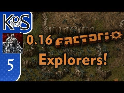 0.16 Factorio Explorers! Ep 5: SOLAR BEGINNINGS - Coop with Xterminator, MP Gameplay