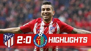 Atletico Madrid vs Getafe 2-0 All Goals  Highlights 06012018 HD
