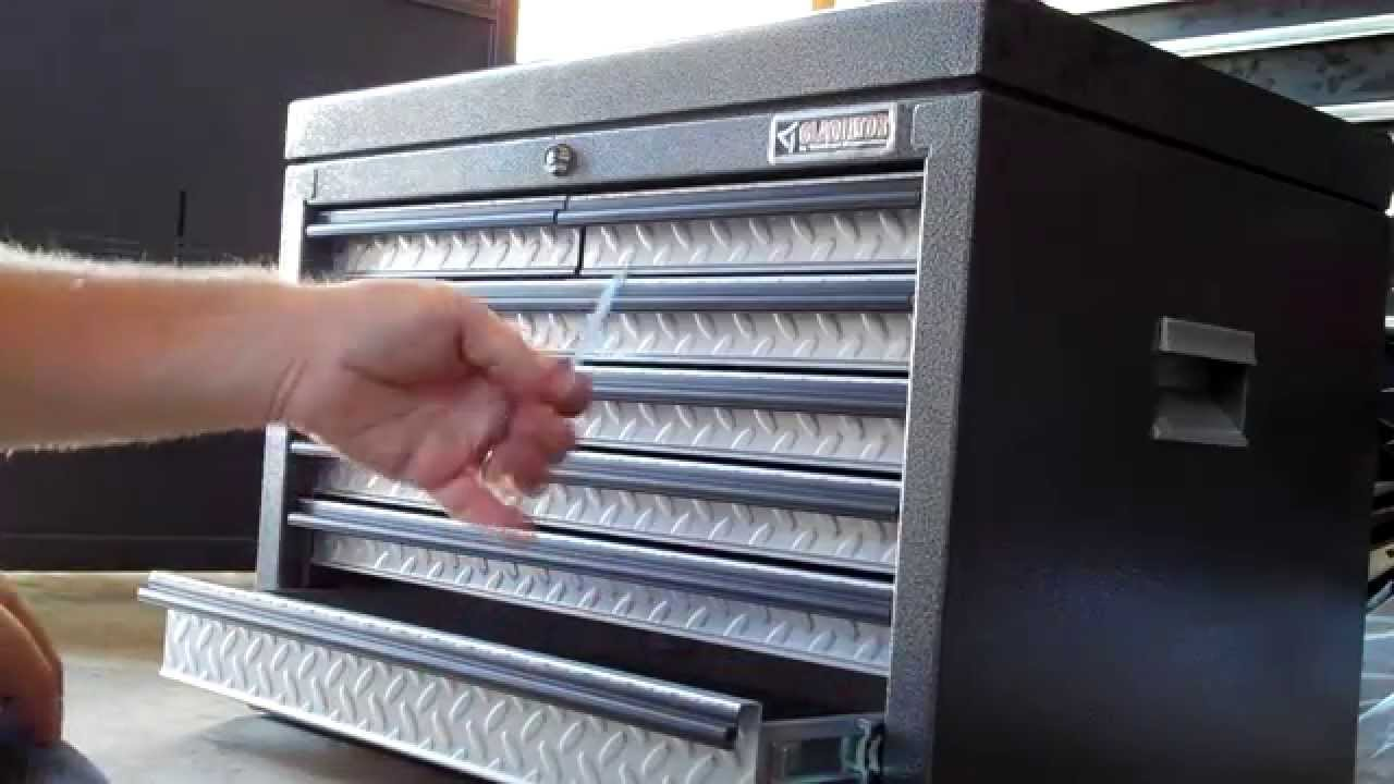 Review of Gladiator Premier Tool Chest - Review Of Gladiator Premier Tool Chest - YouTube