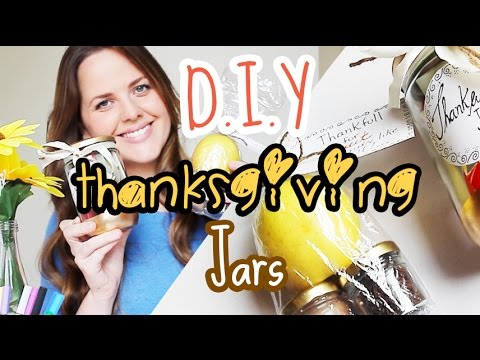 Diy Thanksgiving Gift Jars Cheap And Easy