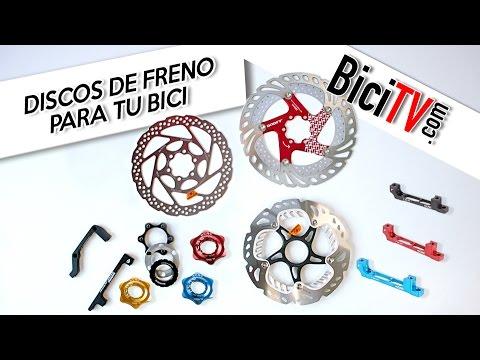 Discos de freno para bicicleta